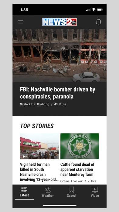 Screenshot #1 for WKRN – Nashville's News 2